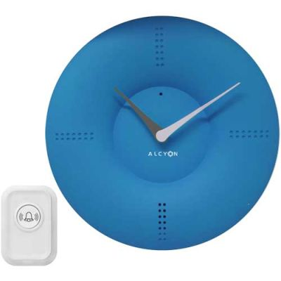 Wireless Button Doorbell  Clock