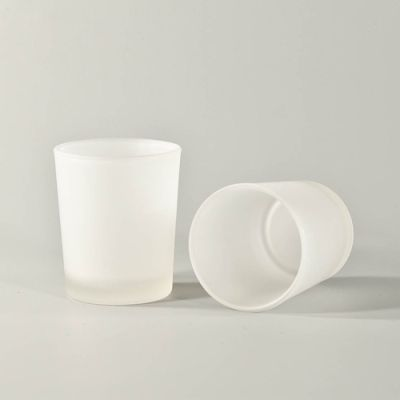 SafeFlame™: Frosted Glass Tealight Holders